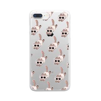 てちてちあずきさん Clear smartphone cases