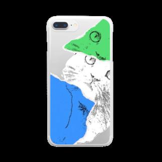 Torajiroの寅次郎シリーズ Clear smartphone cases
