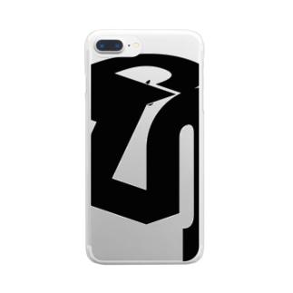 雑談Slackロゴグッズ Clear smartphone cases