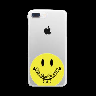 zukkyzukkyのDQZ Clear smartphone cases
