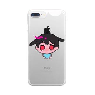 うさぎショタ Clear smartphone cases