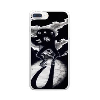 カランコロンの怪・タートルカンパニー Clear smartphone cases