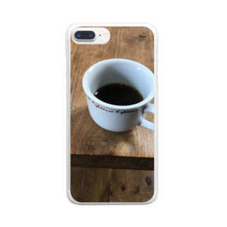 Pakiraの自作コーヒー Clear smartphone cases
