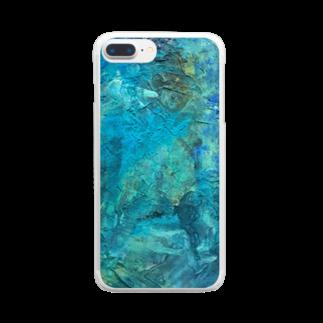 ㌱川の5W1H Clear smartphone cases