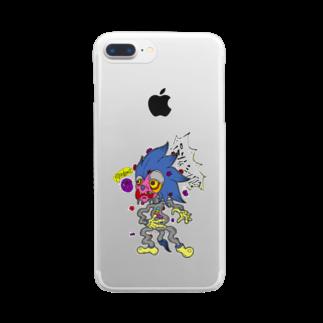 ashinouraのぱんでみっく Clear smartphone cases