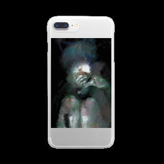 KAREZUのあさごはん Clear smartphone cases