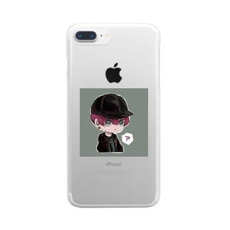 ミニオリキャラ Clear smartphone cases