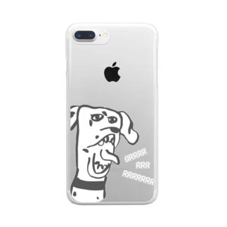 ガリュー Clear smartphone cases