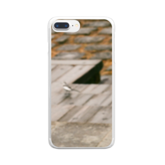 ltwincallのトリ写 Clear smartphone cases