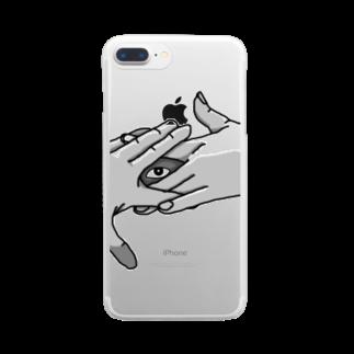 電腦百貨大樓の狐の窓 Clear smartphone cases