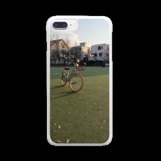 SZUKIのグリーンフィールド Clear smartphone cases