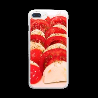ぶたのひづめcafeのぶたのひづめカフェ Clear smartphone cases