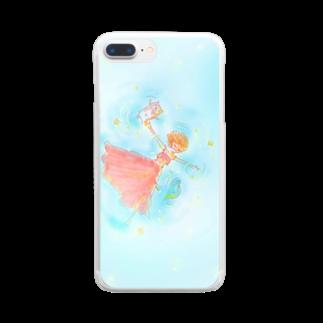 くらたまみのぷかぷか Clear smartphone cases