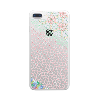 Ast TessellationのTHP-Cat-R1995lef_cl Clear smartphone cases