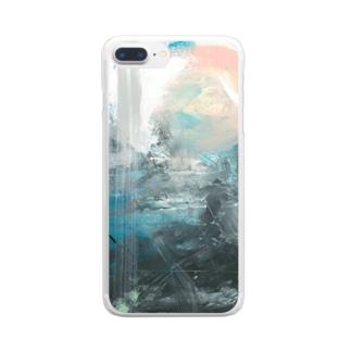 抽象画6 Clear smartphone cases