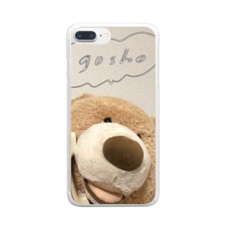 おでんわごしょDX Clear smartphone cases