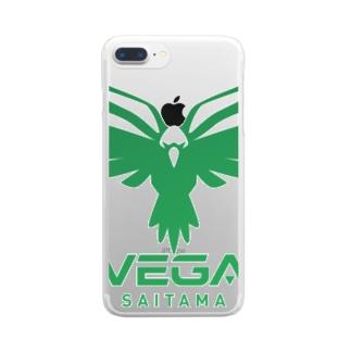 ベガグッズC Clear smartphone cases
