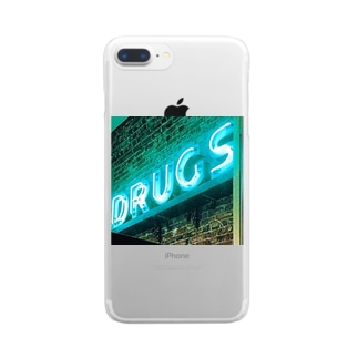 DRUGS Clear smartphone cases