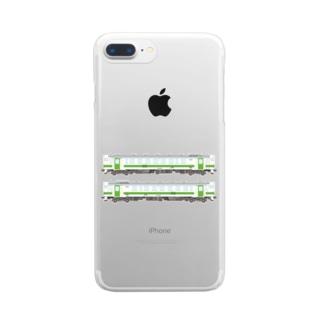 キハ401&402 Clear smartphone cases