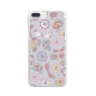 福ふく Clear smartphone cases