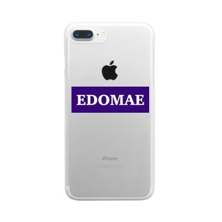 EDOMAE Clear smartphone cases