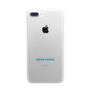 sauna Ikisugi blue Clear smartphone cases