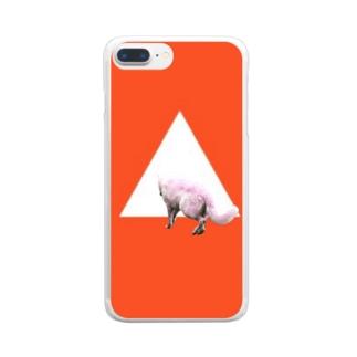 散策 Clear smartphone cases