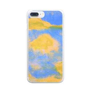 Seaside Village Clear smartphone cases