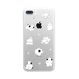 すてん・ころん Clear smartphone cases