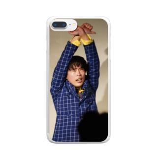 撮らないでスマホケース Clear smartphone cases