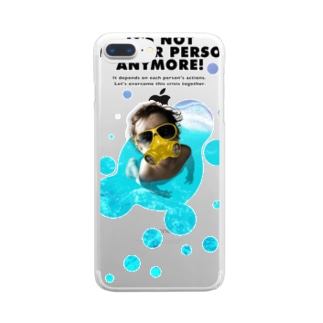 IT'S NOT ANOTHER PERSON ANYMORE! Clear smartphone cases