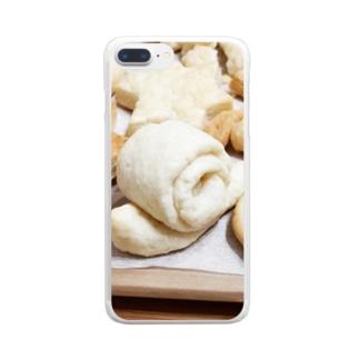 カタツムリクッキー Clear smartphone cases