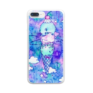 sweet rat Clear smartphone cases
