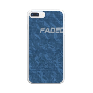 waves - FADED - Clear smartphone cases