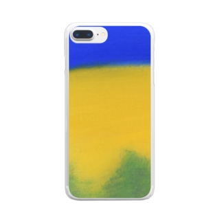 Blue night Clear smartphone cases