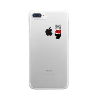 元小池 Clear smartphone cases