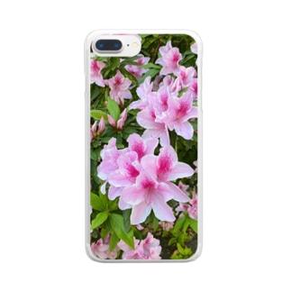さつき Clear smartphone cases