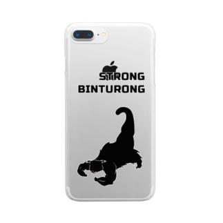 ストロング ビントロング Clear smartphone cases