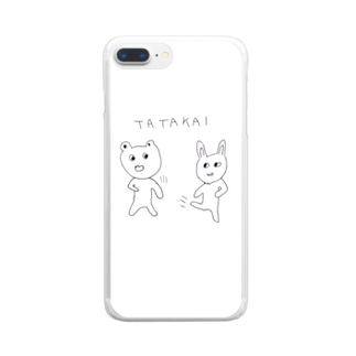 TATAKAI Clear smartphone cases