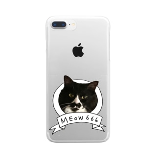 MEOW666 Clear smartphone cases