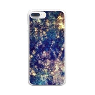 うちゅう Clear smartphone cases