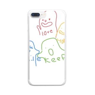 hoqe Clear smartphone cases