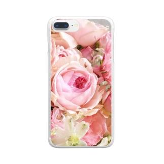 ピンクイヴピアッチェ  クリア Clear smartphone cases