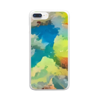 COLORS Clear smartphone cases