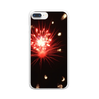 _anethole.の花火 Clear smartphone cases