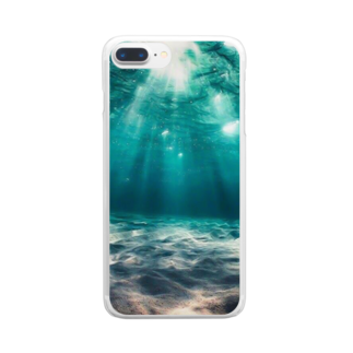 面白・お得情報局のfrom inside Clear smartphone cases
