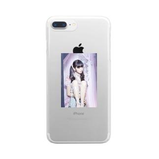 絶対彼女 Clear smartphone cases