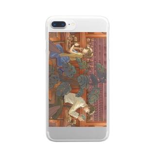 カフェ Clear smartphone cases