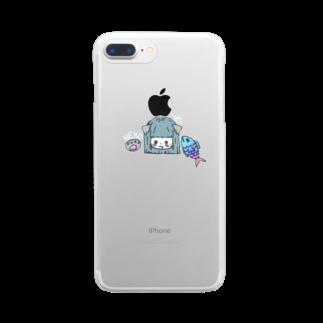 とらきち。のNEKO Clear smartphone cases