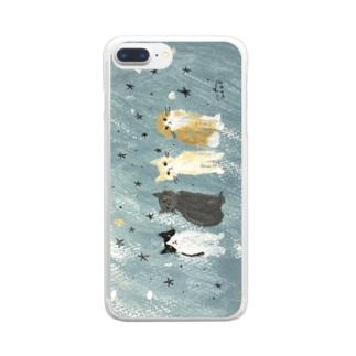 星に願うよ Clear smartphone cases